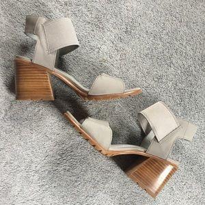 Sorel Nadia Heeled Sandal Grey